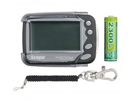 Alpha Numeric Pager Multi-Line - Rechargeable c/w Holster, Rechargeable Battery & Bungee