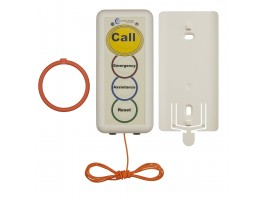 08 Pullcord Unit Yellow label c/w Pullcord, 2x Rings, Bracket & Batteries