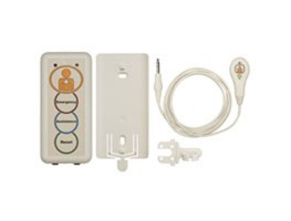 08 Room Unit orange label c/w 08 PP Lead with Light Switch, Bracket, IP67 Clip & Batts