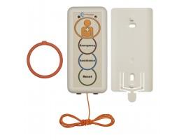 08 Pullcord Unit orange label, c/w Pullcord, 2 x Rings, Bracket & Batteries